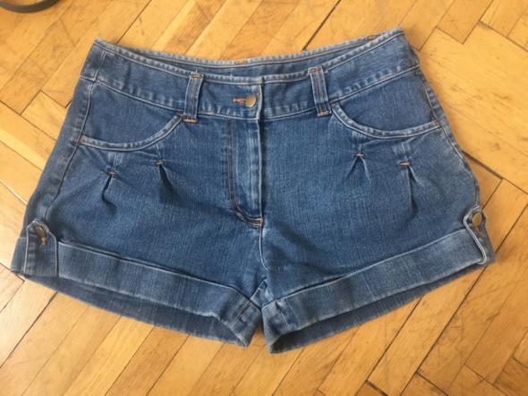 Spodenki Jeansowe krotkie spodenki rozm L stan idealny