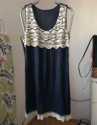 Granatowa sukienka tunika Atmosphere 44...