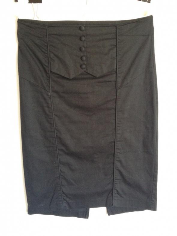 Spódnice Czarna spódniczka ołówkowa New Look rozm 40