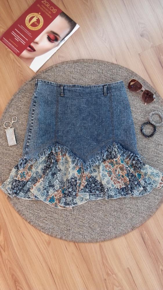 Fajna spódniczka jeans...