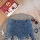 Fajna spódniczka jeans