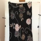 Czarna kwiecista spódnica Isabelle XXL