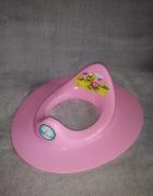 Nakładka sedesowa wc dla dzieci różowa Tega Baby