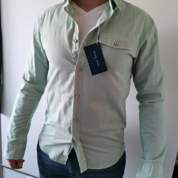Pistacjowa koszula...
