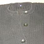 CZARNY sweter tunika ICHI