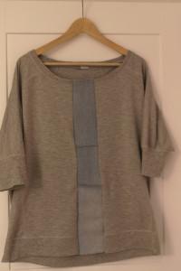 Bluzka szara kimono rozm XL