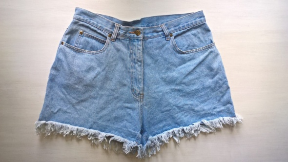 Jeansowe szorty mom jeans 42 44...
