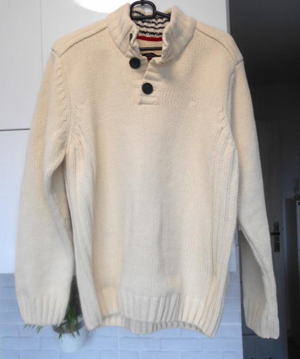 Pierre Cardin męski sweter kremowy...