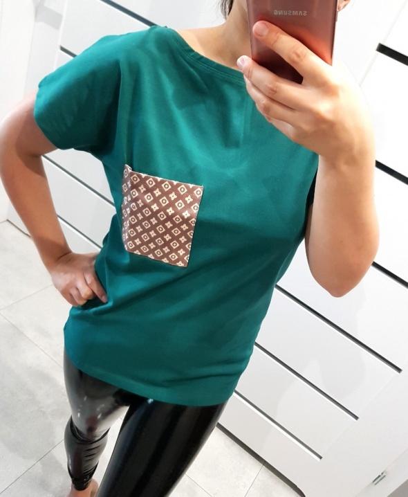Nowe Tshirty bluzki z kieszonką