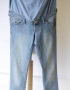 Spodnie H&M Mama Slim XL 42 Jeansowe Dzins...