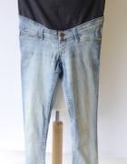 Spodnie H&M Mama Rurki S 36 Skinny Dzinsowe Jeans...