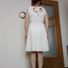 Sukienka kremowa