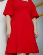 Sukienka czerwona 42