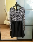 rozkloszowana sukienka glamorous...