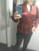 czerwona koszula w stylu chińskim M...