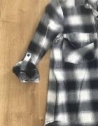 Koszula zara idealna xs w granatową kratkę wyprzedaż szafy...