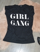 Bluzka z motywem Gang Girl rozm S...