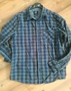 Koszula w kratkę męska chłopięca L...