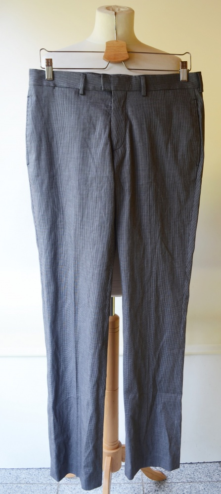 Spodnie Kratka Zara Man Szare Krateczka M 38 Garnitur
