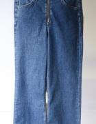 Spodnie NOWE Dzinsowe Rozszerzane Nogawki 26 H&M Kick Flare...