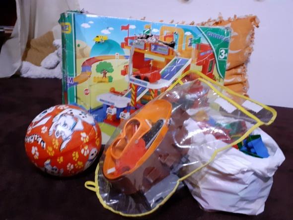 Zabawki dla chłopca...