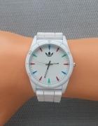 Zegarek sportowy Adidas biały nowy