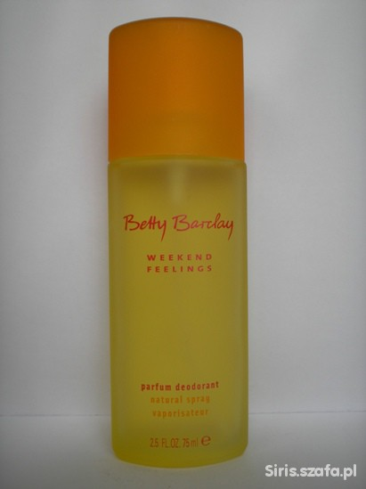 Deo atomizer Betty Barclay Weekend Feelings...