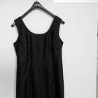 Sukienka Burton Dopasowana Ołówkowa Czarna z Francuskiej Koronki Wieczorowa Imprezowa 38