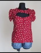 Bluzka koszula z odkrytym dekoltem A wear 40 L stan bdb...