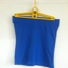 Niebieska granatowa mini spódnica obcisła ołówkowa
