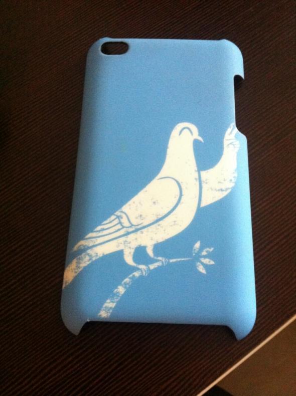 Obudowa etui iPhone 3 grifin gołąbek niebieska