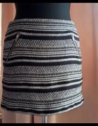 Dzianinowa spódnica mini H&M S...