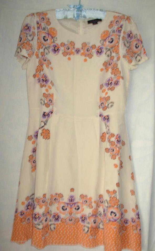 Jedwabna sukienka Trashydiva 40...