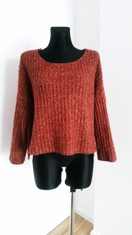 Swetry Sweterek oversize z welna Vero Moda