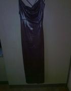 długa suknia rura...