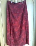 długa spódnica czerwona...
