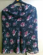 spódnica letnia w kwiaty...