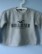 Hollister szara bluza dziecięca dresowa...