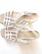 kremowe buty rozmiar 38 ecru buty na paseczkach 38 rozmiar...