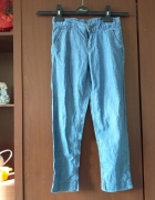 dzinsowe spodnie
