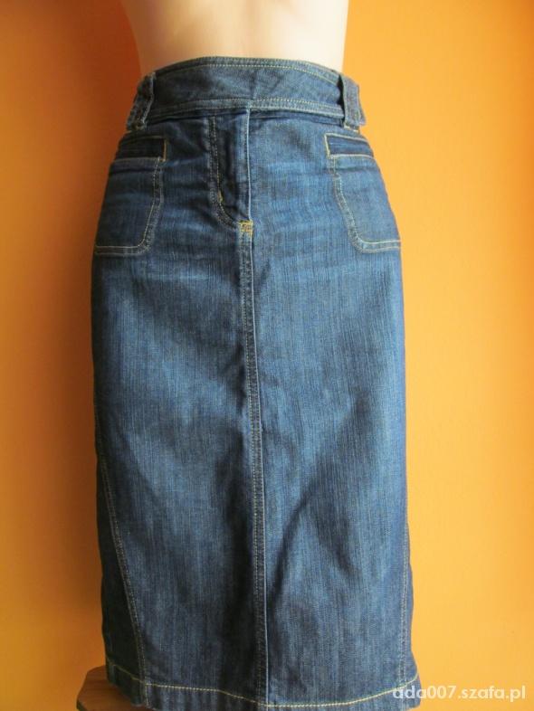 Spódnice Jeansowa spódnica midi