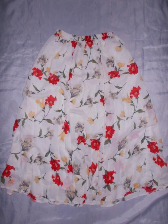 Spódnica spódnica w kwiaty 48 50 52 54 56