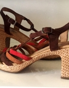 GABOR skórzane sandały roz 39