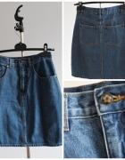 Ołówkowa spódniczka jeans...