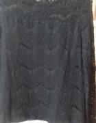 Czarna bluzeczka koronkowa roz 38