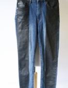 Spodnie Lindex Dzinsy Lampasy XS 34 Postrzępione Jeansy...
