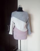 Ciepły zimowy sweter w rozmiarze M...