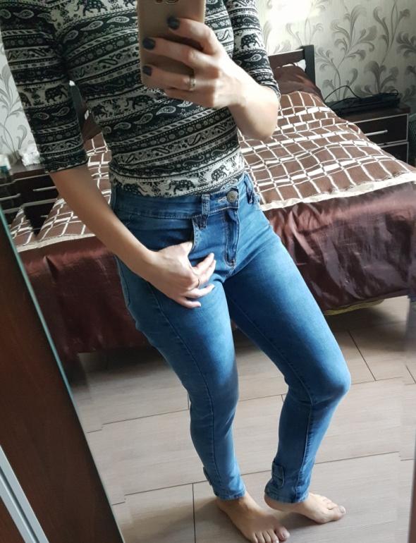 jeansy strecz