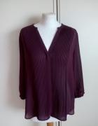 Swietna bordowa rozpinana bluzeczka H&M...