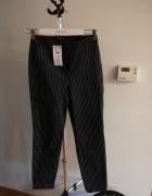 Eleganckie nowe spodnie w paski Reserved...